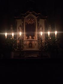 Altar Anna Kirche Gründonnerstag